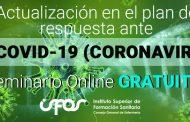 Más de 5.000 enfermeros ya han realizado el seminario de actualización en coronavirus del CGE