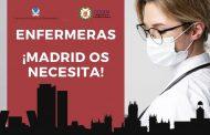 El CODEM habilita un nuevo formulario para las enfermeras españolas que quieran prestar sus servicios en Madrid