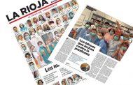 La prensa de La Rioja y Guipúzcoa homenajea a los sanitarios