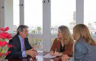 El Colegio de Enfermería de Cádiz presenta Nursing Now a las instituciones sanitarias