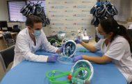 El Hospital Infanta Leonor (Madrid) adapta una máscara de buceo para pacientes Covid-19