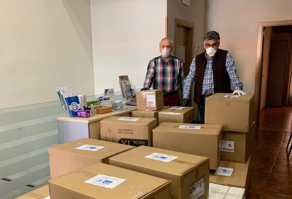 El Colegio de Enfermería de Toledo dona EPIS a los centros sanitarios de Toledo y Talavera de la Reina