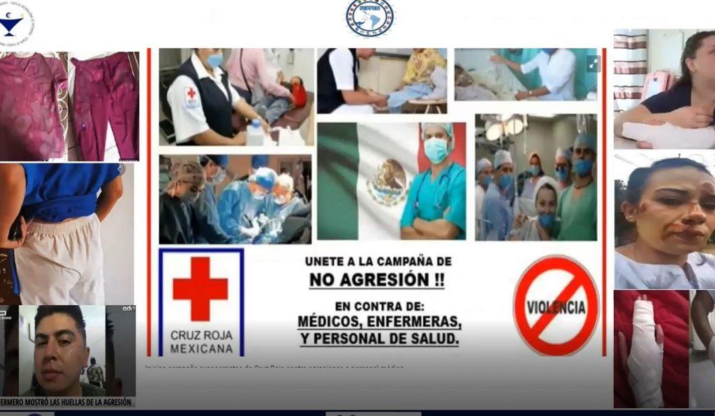 Las enfermeras mexicanas piden acción inmediata para acabar con los episodios de violencia a sus compañeras