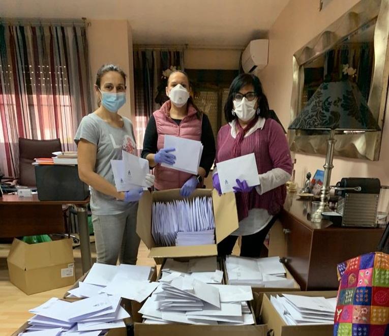 El Colegio de Enfermería de Almería prepara un envío masivo de materiales de protección a sus colegiados