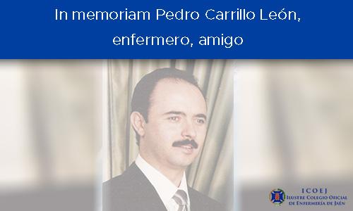 Carta del presidente del Colegio de Enfermería de Jaén a su compañero fallecido: