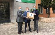 El Colegio de Enfermería de Granada aporta 4.000 mascarillas FPP2 y 20.000 quirúrgicas para sanitarios