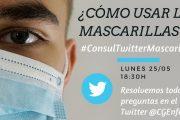 Las enfermeras resuelven tus dudas en Twitter en una nueva edición de #ConsulTwitter sobre mascarillas y desescalada