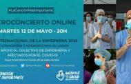 Músicos por la Salud dedican su concierto de hoy a las enfermeras con motivo de su día