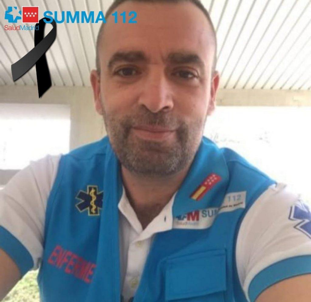Luto en el SUMMA 112 por la muerte de un enfermero