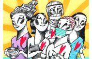 El artista Ignasi Blanch dedica una ilustración a las enfermeras en su día internacional