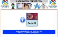 Las enfermeras alicantinas forman a los cuerpos de seguridad sobre COVID-19