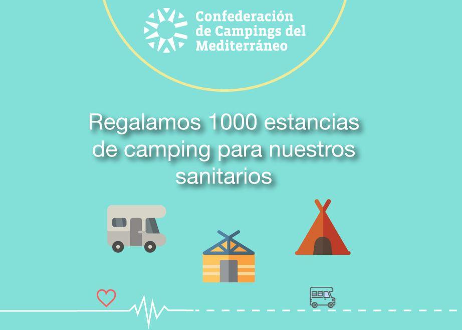 Últimas horas para participar en el sorteo de 1000 estancias de camping para sanitarios