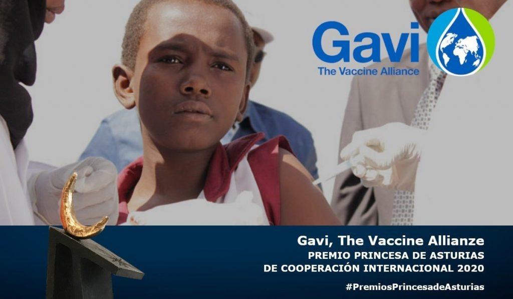 La Alianza Mundial de Vacunas, GAVI, Premio Princesa de Asturias de Cooperación Internacional