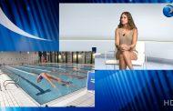 """Itziar Cerezo, enfermera y nadadora de alta competición: """"La natación exige una enorme voluntad, la misma que debe tener una enfermera"""""""