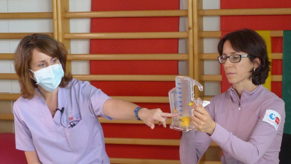 Un hospital madrileño edita vídeos para apoyar la rehabilitación de pacientes COVID-19
