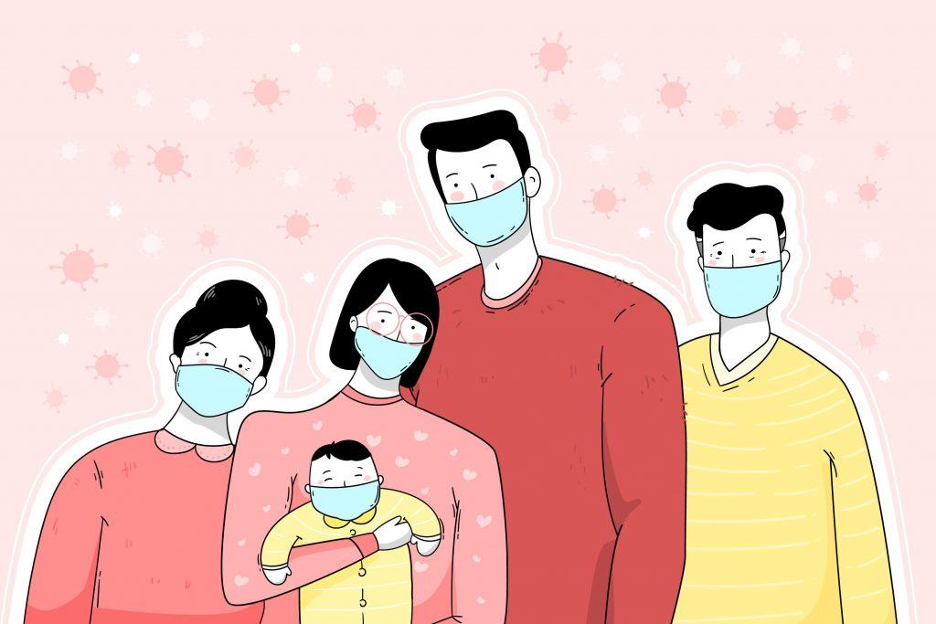 Nueve de cada diez personas tiene miedo de contagiar de COVID-19 a sus familiares, según un estudio