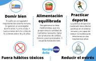 Las enfermeras de Ávila lanzan consejos para fortalecer el sistema inmune