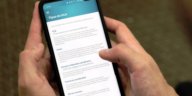 Nace 'Daño Cerebral App', la primera aplicación con información sobre recursos para personas con daño cerebral adquirido