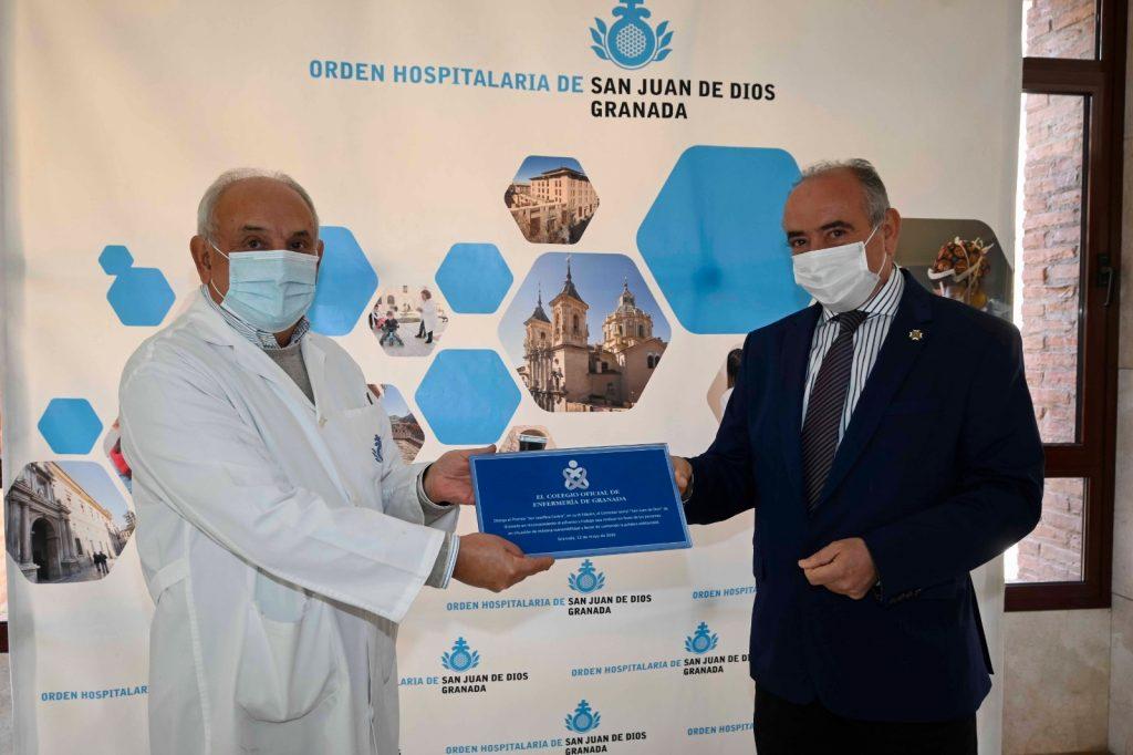 El Colegio de Enfermería de Granada premia la labor solidaria del comedor de San Rafael