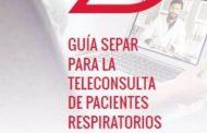 Publican una guía de consejos en la teleconsulta dirigida a profesionales para tratar a pacientes respiratorios
