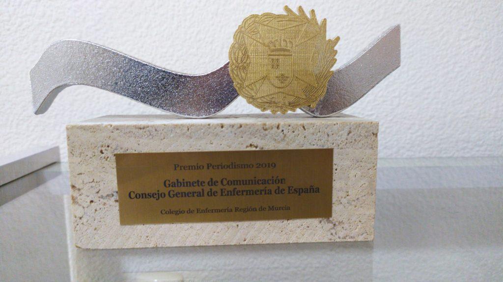 La labor informativa del CGE premiada por el Colegio de Enfermería de Murcia