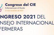 """""""Enfermería por el mundo"""", el renovado congreso del CIE será online del 2 al 4 de noviembre de 2021"""