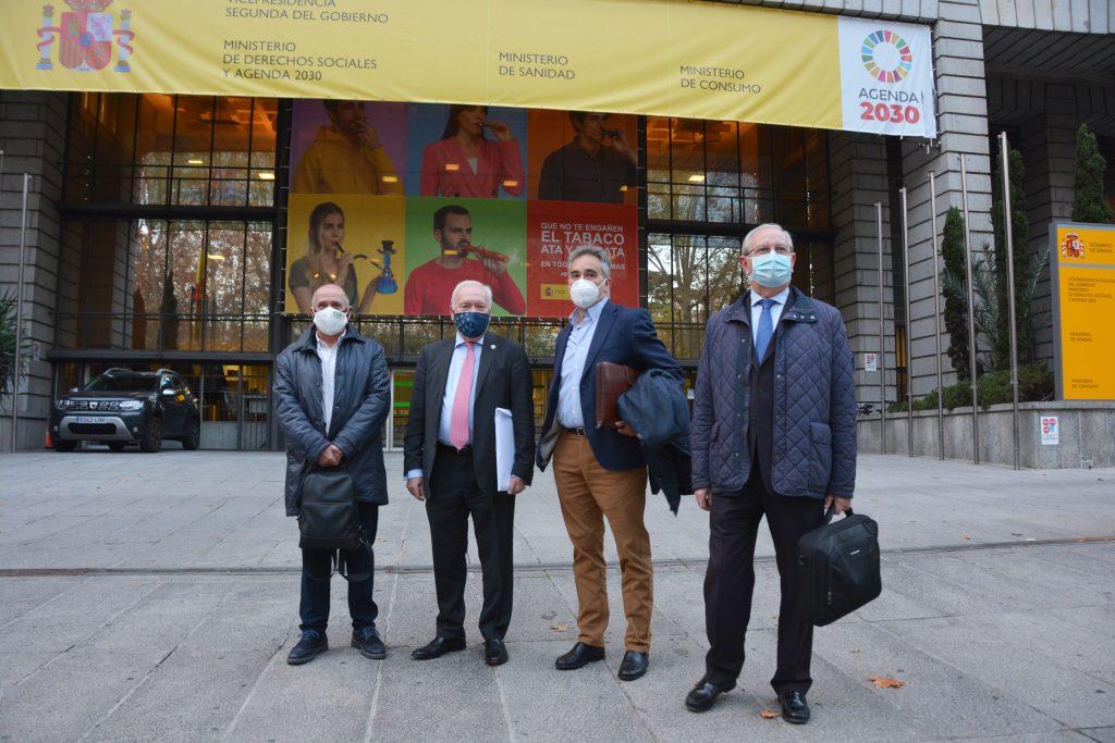 El Foro Profesional reanuda el diálogo con el Ministerio de Sanidad para trabajar conjuntamente en favor del SNS, los pacientes y los profesionales sanitarios