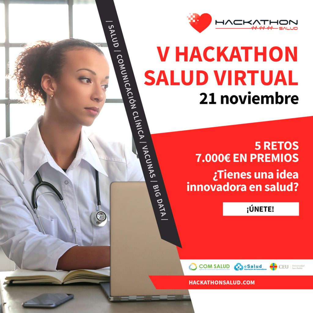 El Hackathon celebra su quinta edición el 21 de noviembre con un llamamiento a la innovación en salud