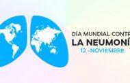 Los edificios y monumentos más emblemáticos de España se tiñen de azul en el Día Mundial de la Neumonía