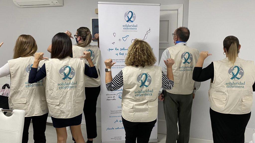 Solidaridad Enfermera Tenerife, una respuesta solidaria a las necesidades sociales
