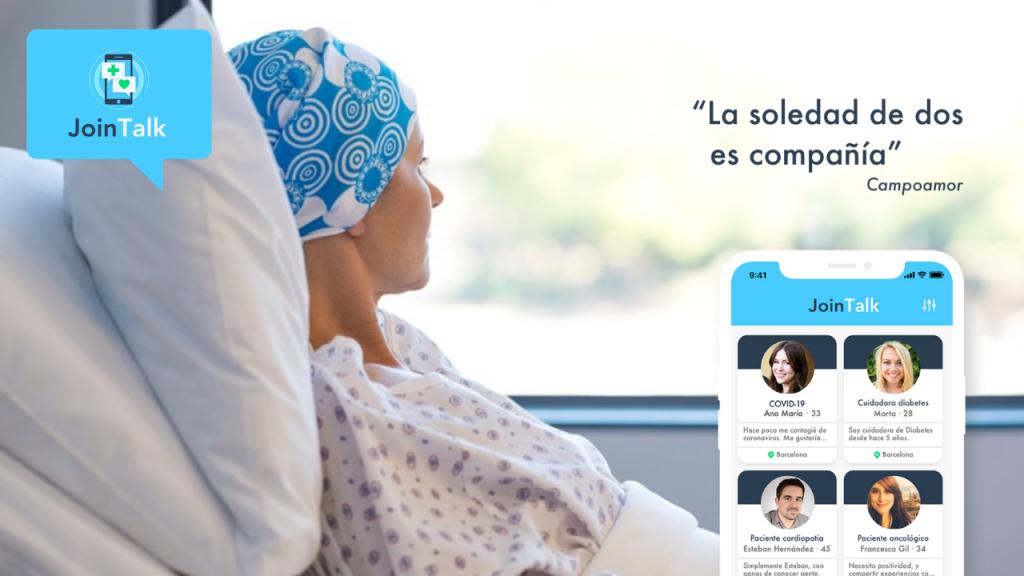 Una app conecta a cuidadores y pacientes en tiempo real