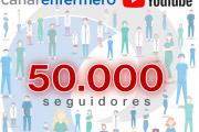 Canal Enfermero alcanza la cifra de 50.000 seguidores y se afianza como referente informativo de las enfermeras españolas