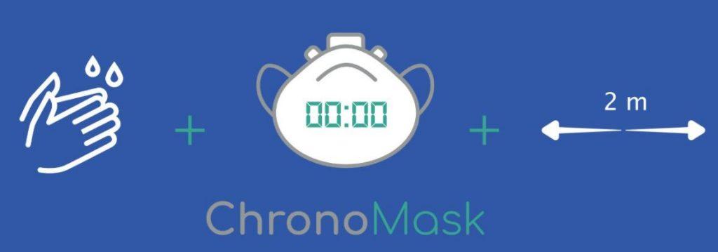 ChronoMask, una <i>app</i> enfermera para saber cuándo cambiar de mascarilla