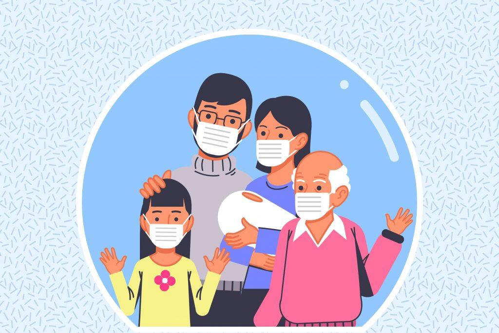 La OMS avisa del riesgo y aconseja mascarillas en reuniones familiares