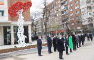 Una escultura de Jaume Plensa rinde homenaje a los sanitarios de la pandemia