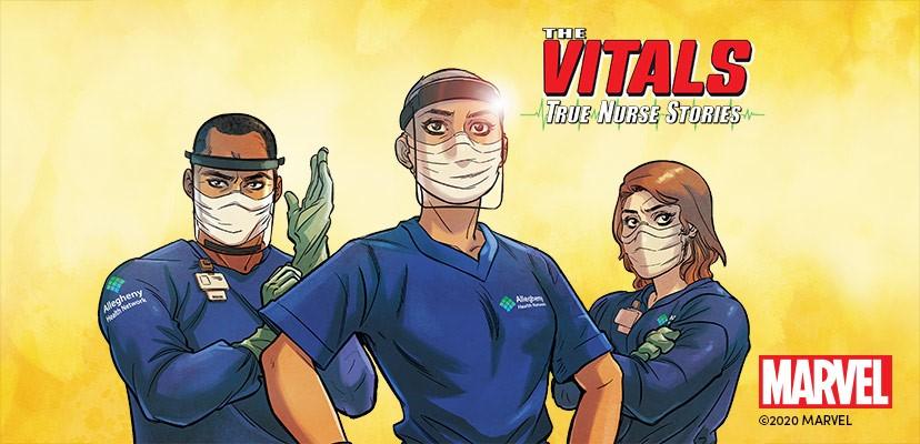 Los comics de Marvel homenajean a las enfermeras con
