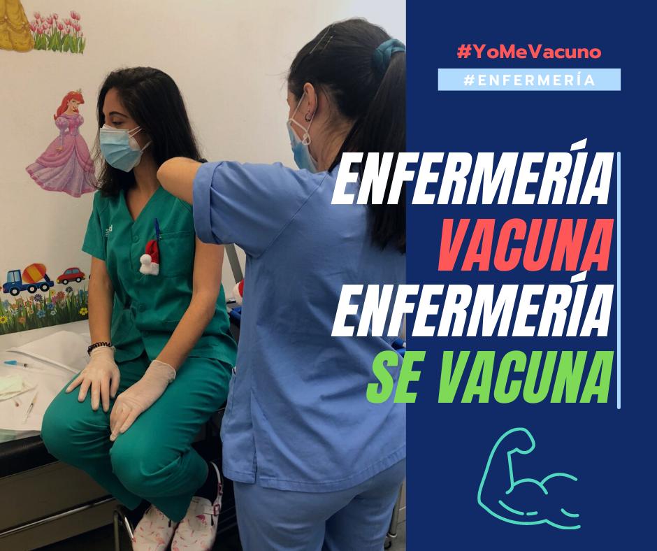 Las enfermeras de Aragón hacen un llamamiento a la vacunación entre sus profesionales