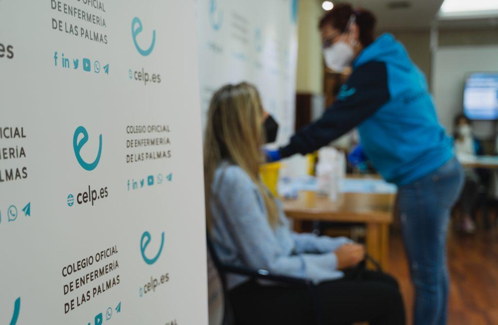 El Colegio de Enfermería de Las Palmas vacunará a más de un millar de profesionales sanitarios
