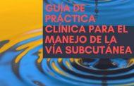 Guía manejo vía subcutánea: tres enfermeras de Huesca autoras