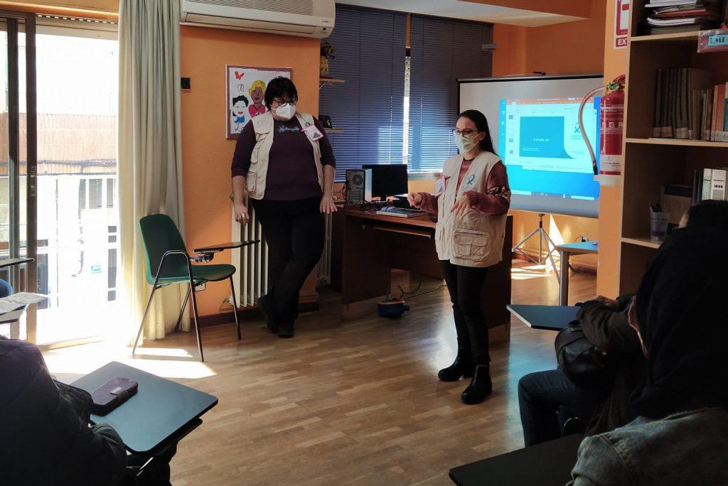 Solidaridad Enfermera Ciudad Real da pautas de prevención del COVID-19 a mujeres en situación de vulnerabilidad