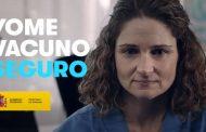 Una enfermera, protagonista en la campaña #YoMeVacunoSeguro del Ministerio de Sanidad