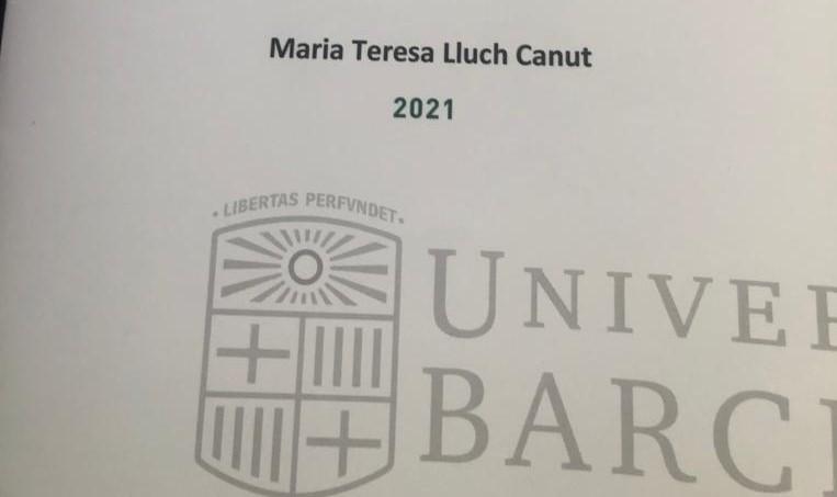 Mª Teresa Lluch Canut, primera catedrática de Universidad de Enfermería Psicosocial y Salud Mental de Cataluña