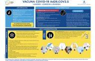 El CGE y ANENVAC explican las claves de la vacuna de Janssen y recuerdan a la población que todas son seguras y eficaces