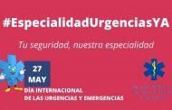 SEMES convoca una concentración el 27 de mayo para reclamar la especialidad de Urgencias y Emergencias