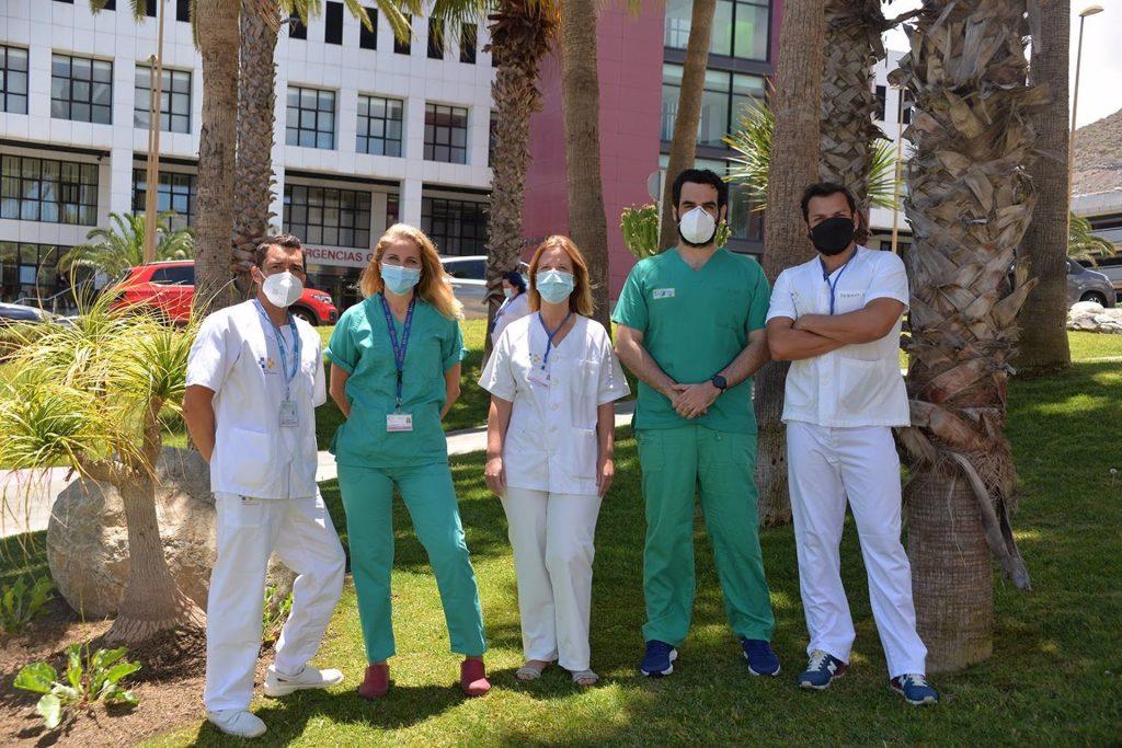 ANDE premia el trabajo de coordinación en vacunas de las enfermeras del Hospital Insular-Materno Infantil de Gran Canaria