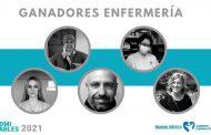 Ya se conocen los cinco enfermeros Admirables reconocidos por Diario Médico y Correo Farmacéutico
