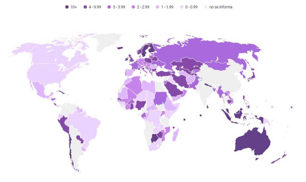 Estado de las matronas en el mundo: Faltan 900.000 profesionales, lo que amenaza la vida y la salud de las mujeres
