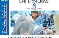 12 de mayo de 2021 a las 12.00: las enfermeras convocan un minuto de silencio por todos los profesionales fallecidos