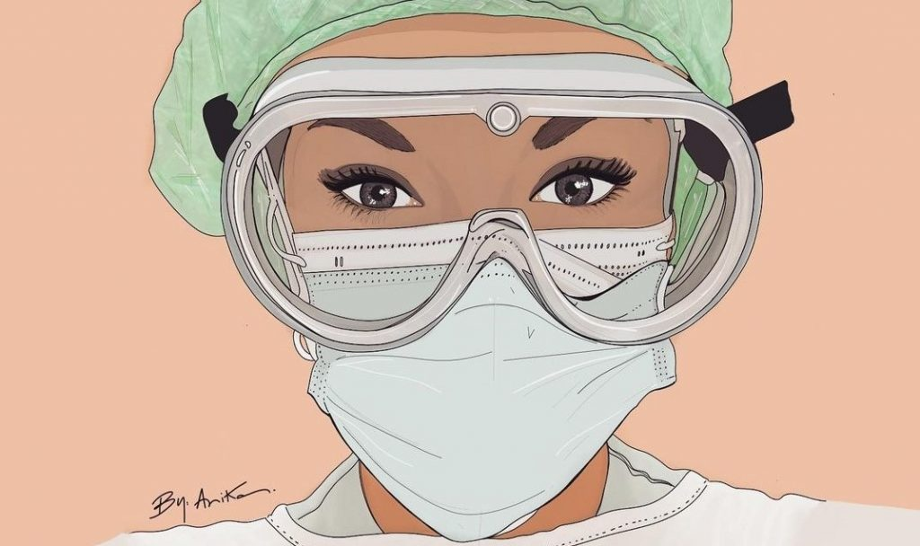 """""""Un año gris a todo color"""", el homenaje a los sanitarios en forma de ilustraciones un año después de la pandemia"""