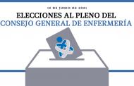 Dos candidaturas concurrirán a las elecciones al Pleno del Consejo General de Enfermería el sábado 12 de junio